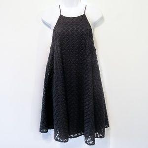 Anthropologie Black Kimchi Blue Sleeveless Dress